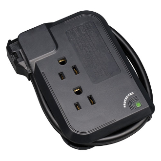 Tripp Lite's portable TRAVELER3USB surge suppressor offers complete surge suppression for laptops, electronic notepads, personal organizers and other portable electronic devices. Compact and portable, it neatly fits into laptop travel cases.