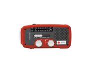 The American Red Cross MICROLINK FR160 is so compact that you can easily store anywhere. It has a high-quality AM/FM tuner, providing you with news and public service announcements. It also integrates a NOAA Weather Radio that brings you alerts.
